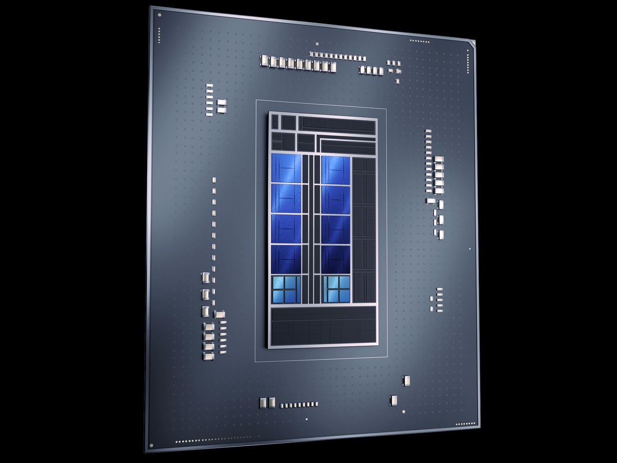 Image of an Intel chip