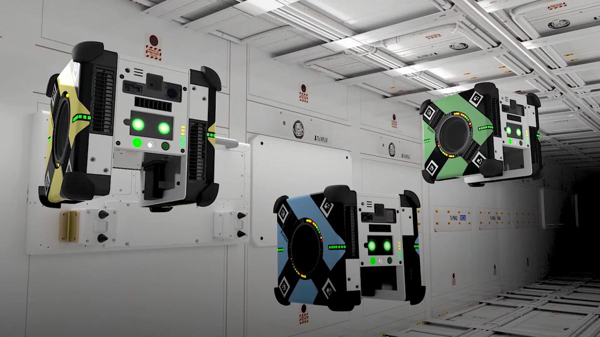Astrobee Will Find Astronauts' Lost Socks