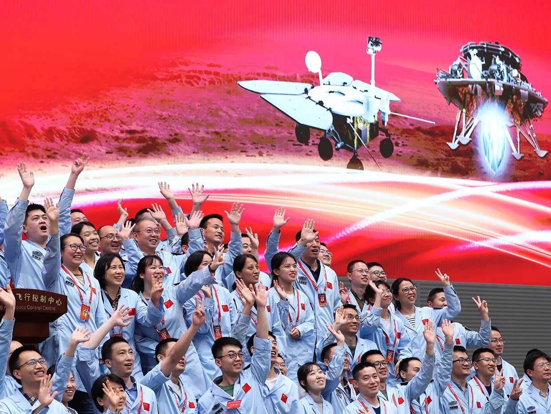 China Becomes Third Nation to Successfully Land Rover on Mars thumbnail