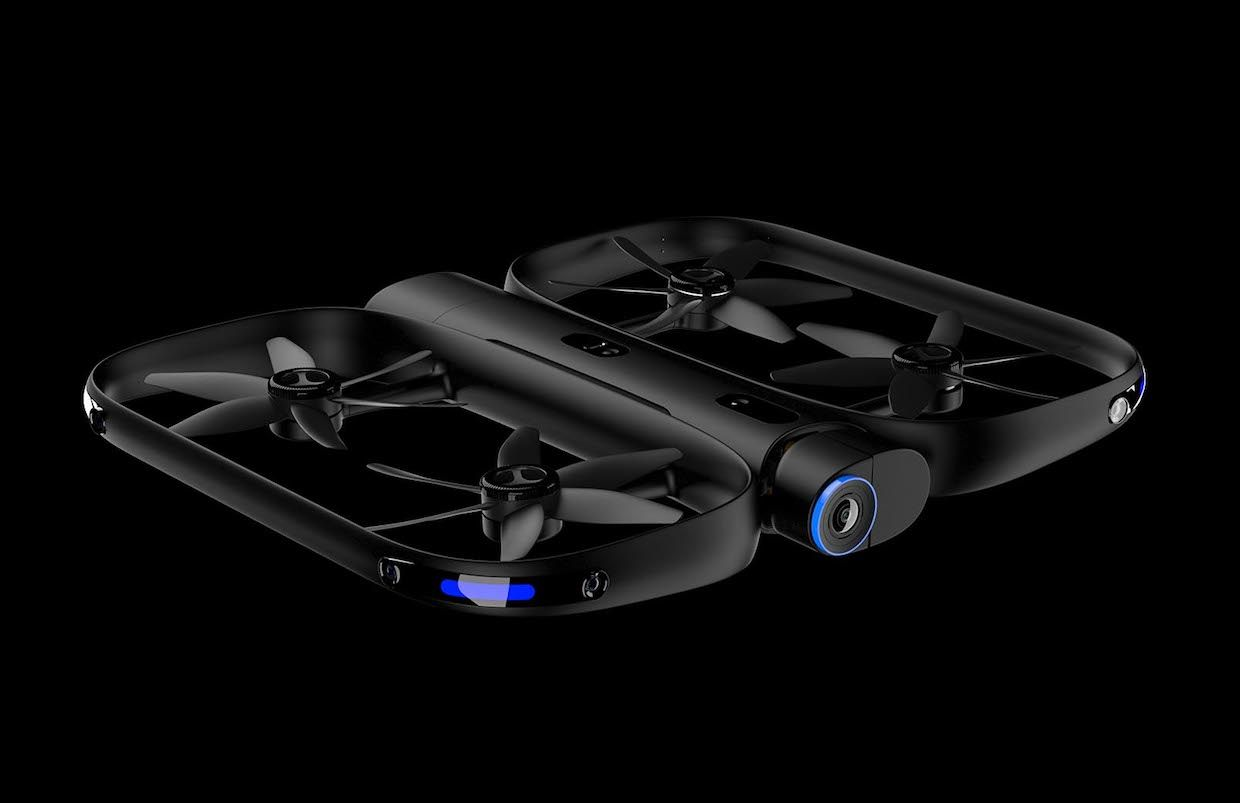 Skydio R1, an autonomous flying camera drone