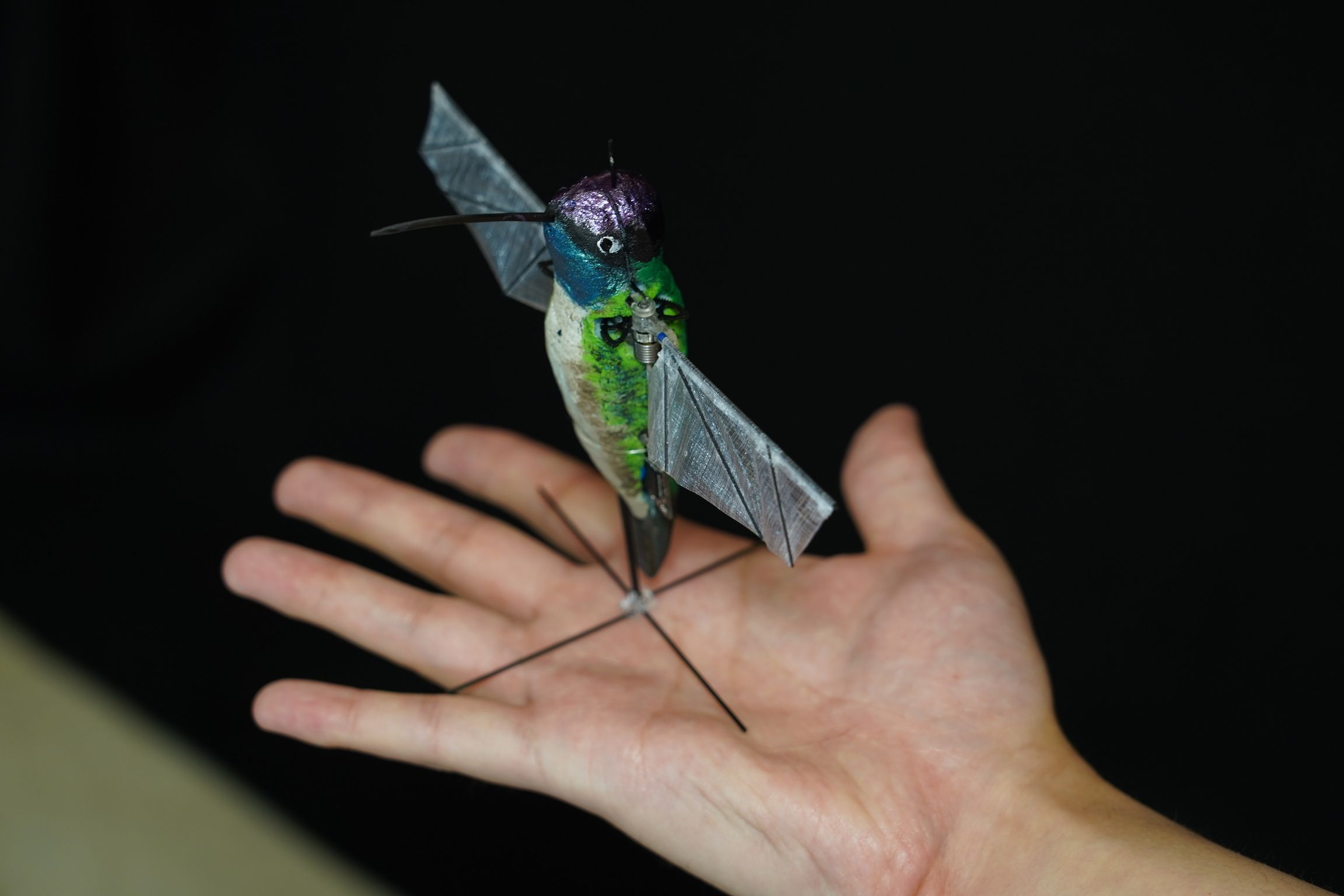 This Robot Hummingbird Is Almost as Agile as the Real Thing
