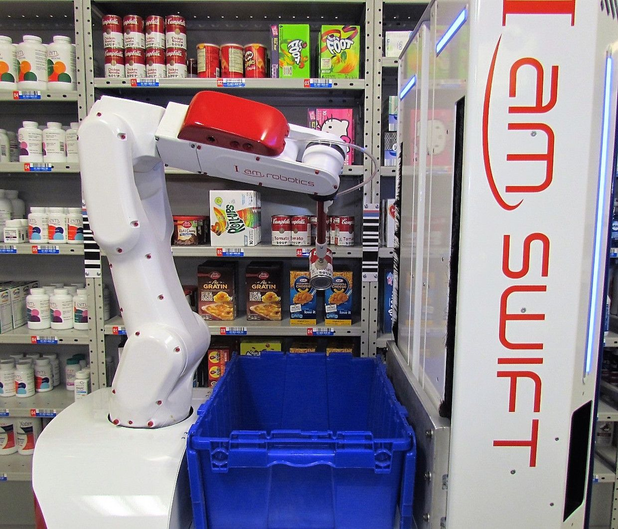 Iam Robotics Takes On Automated Warehouse Picking Ieee