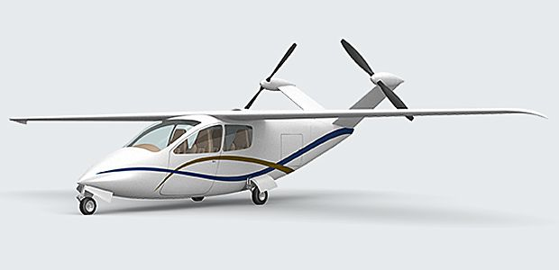 How I Designed A Practical Electric Plane For NASA IEEE Spectrum - Examples future planes look according nasa