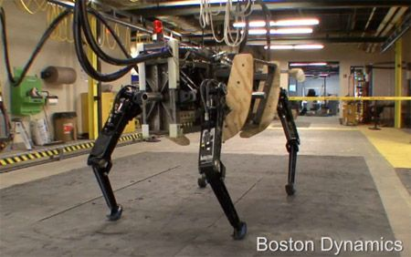 Robot AlphaDog de Boston Dynamics