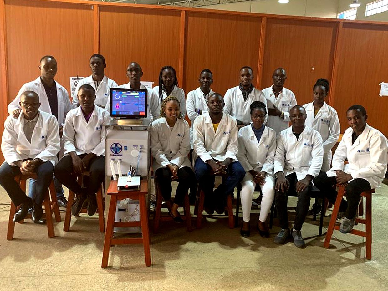Nairobi IEEE Students Design a Low-Cost Ventilator Using Locally Sourced Materials