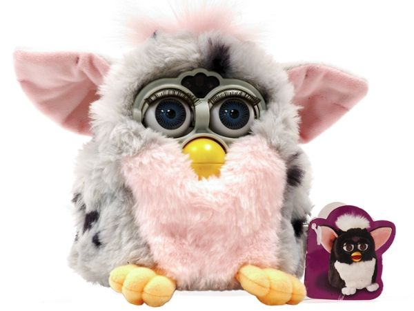Photo of Furby or related robot.