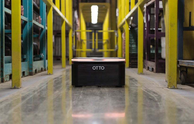 Miniaturized Sibling Of OTTO Material Handling Robot Joins