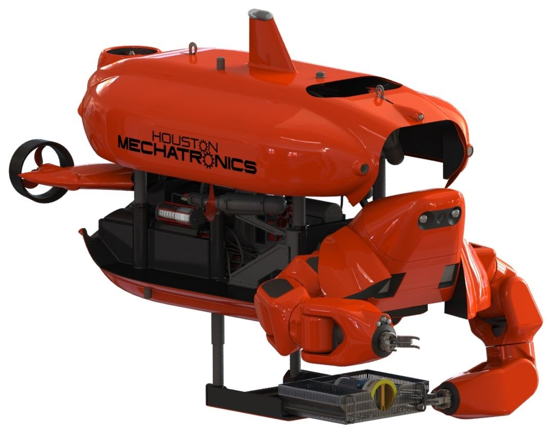 Aquanaut robot, created by Houston Mechatronics