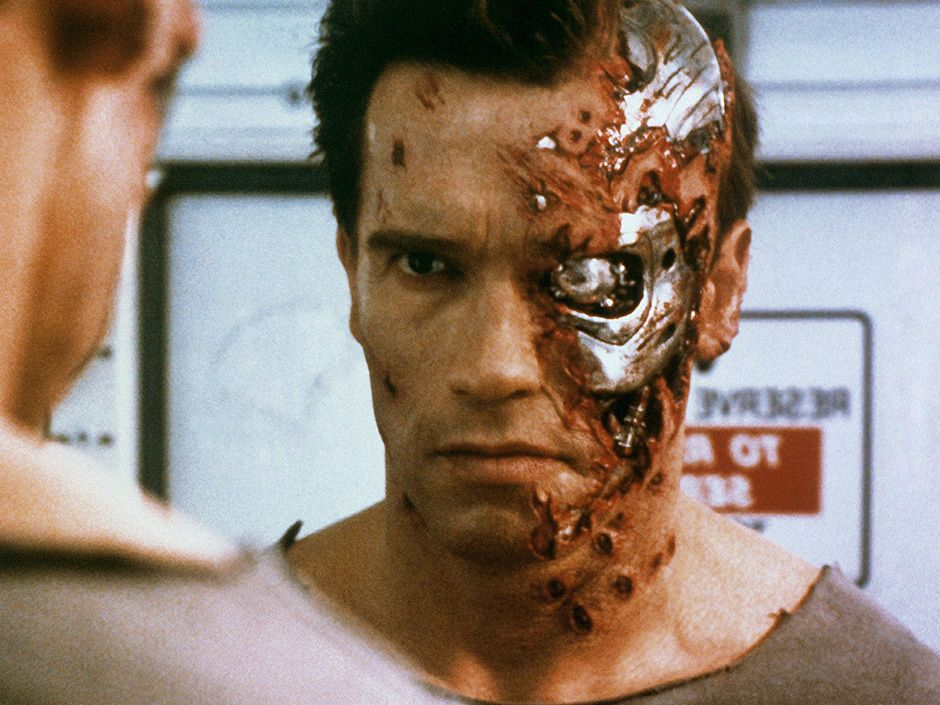 <b>The Terminator:</b> (1984) Mention killer robots, and most people picture Arnold Schwarzenegger as the unstoppable T-800.