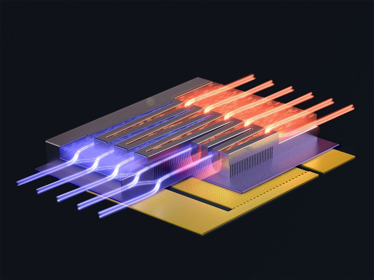Co-designing electronics and microfluidics for a cooling boost