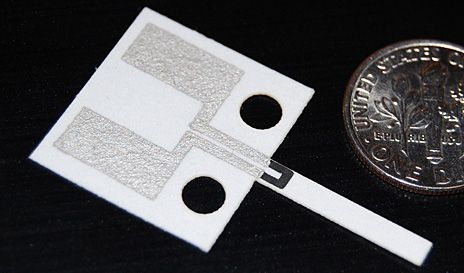 Paper Accelerometer Could Mean Disposable Devices