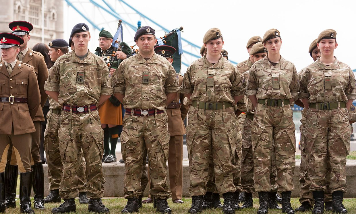 Members of the British Armed Forces