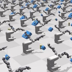 The way to really scale up robot learning is to do as much of it as you can in simulation