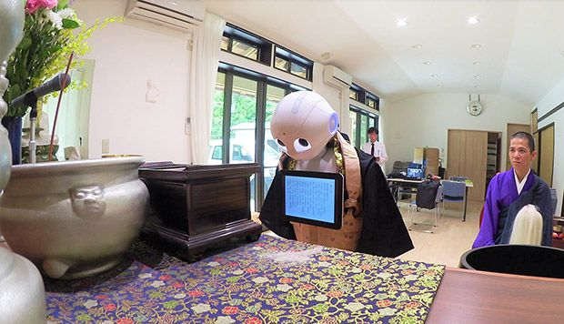 The Japanese robot trained to host low-priced Buddhist funerals