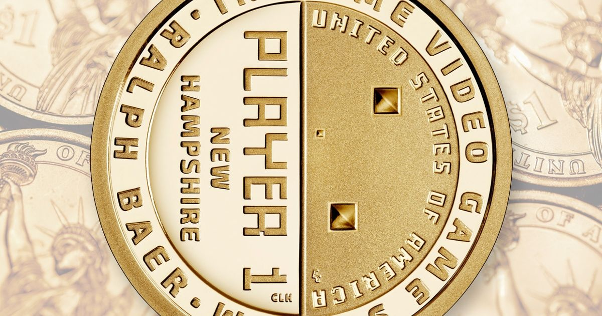 THE INSTITUTE  Gamers and coin collectors alike can now celebrate Ralph Baer's contributions with an American Innovation dollar from the U.S. Mint.&