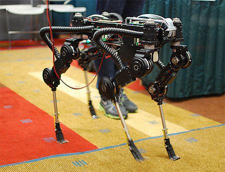 Video: SQ1 Quadruped Robot from South Korea - IEEE Spectrum