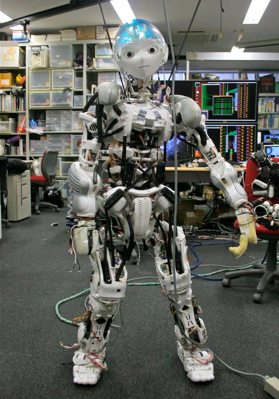 Kojiro Humanoid Robot Mimics Your Musculoskeletal System ...