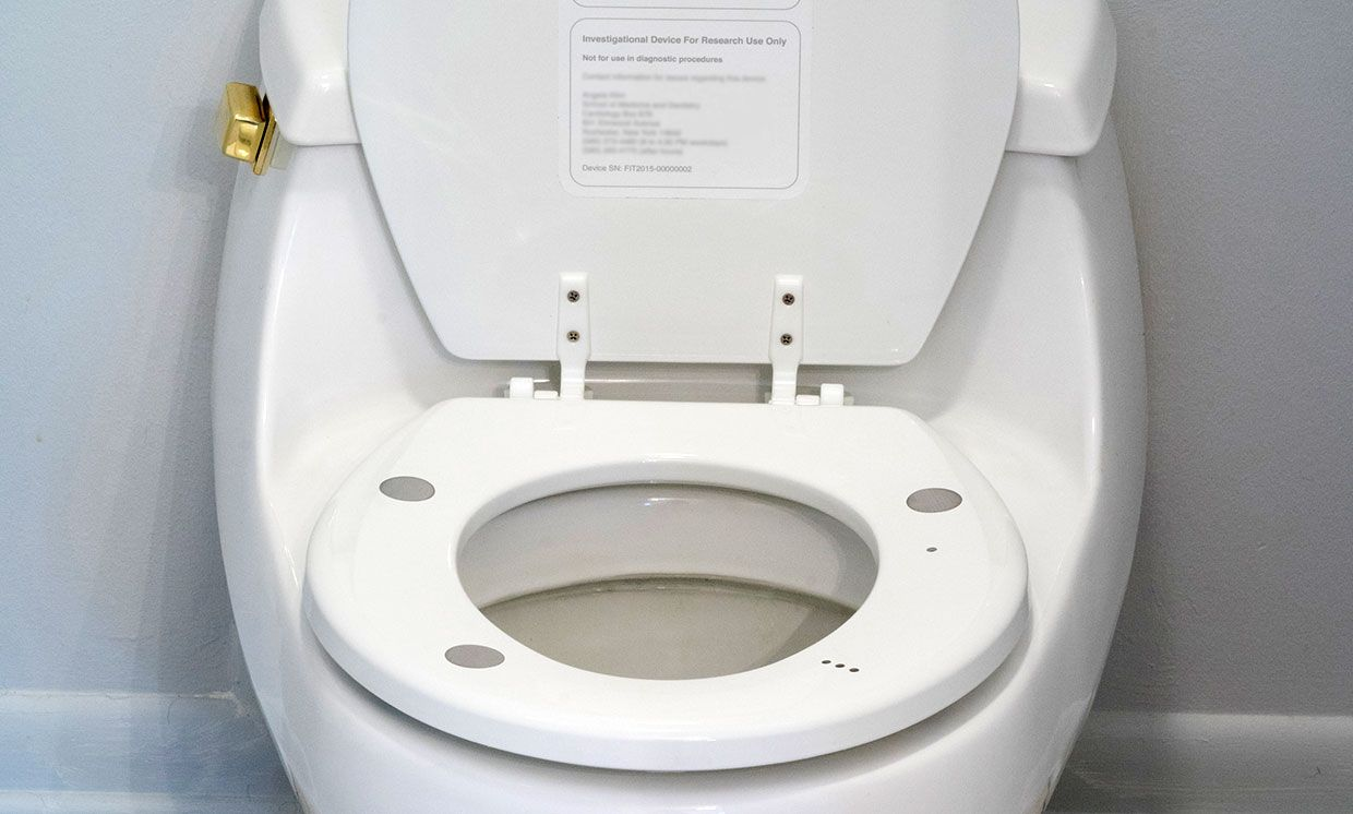 Miraculous Monitoring Heart Health One Toilet Seat At A Time Ieee Onthecornerstone Fun Painted Chair Ideas Images Onthecornerstoneorg