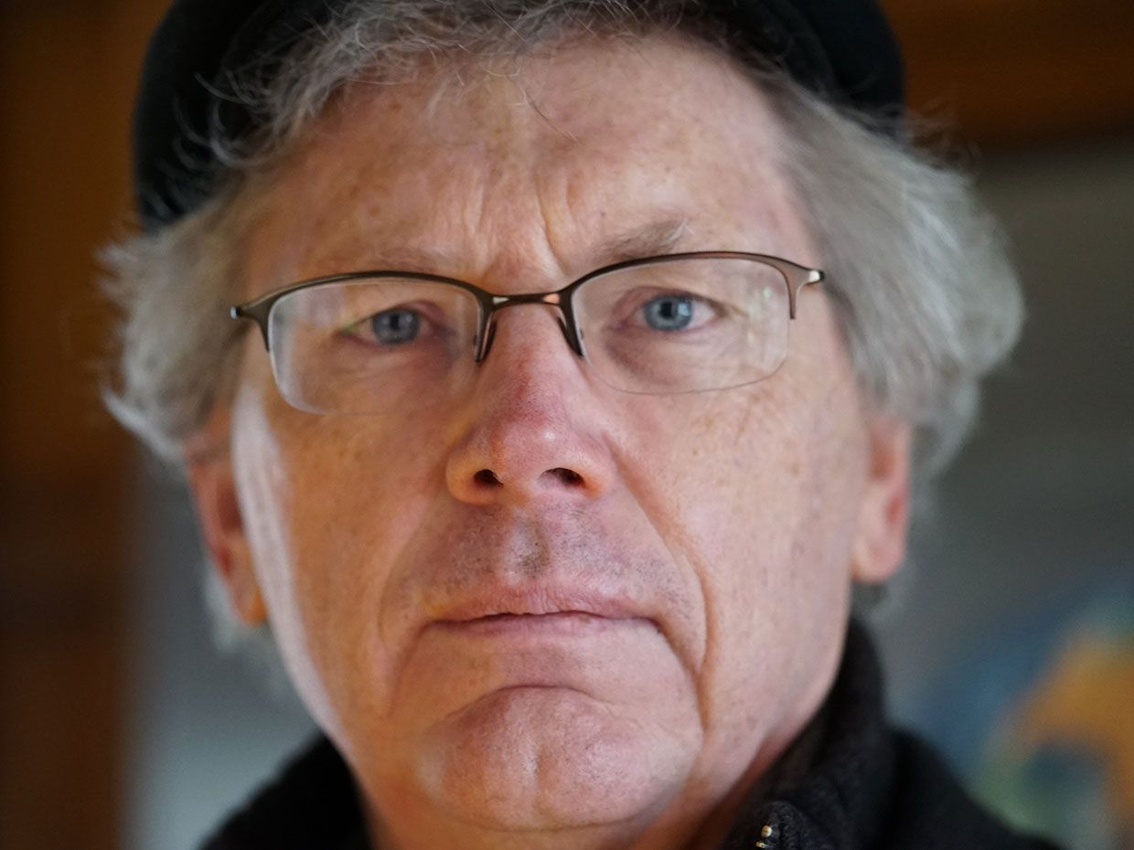 Close-up portrait of Bill Joy.