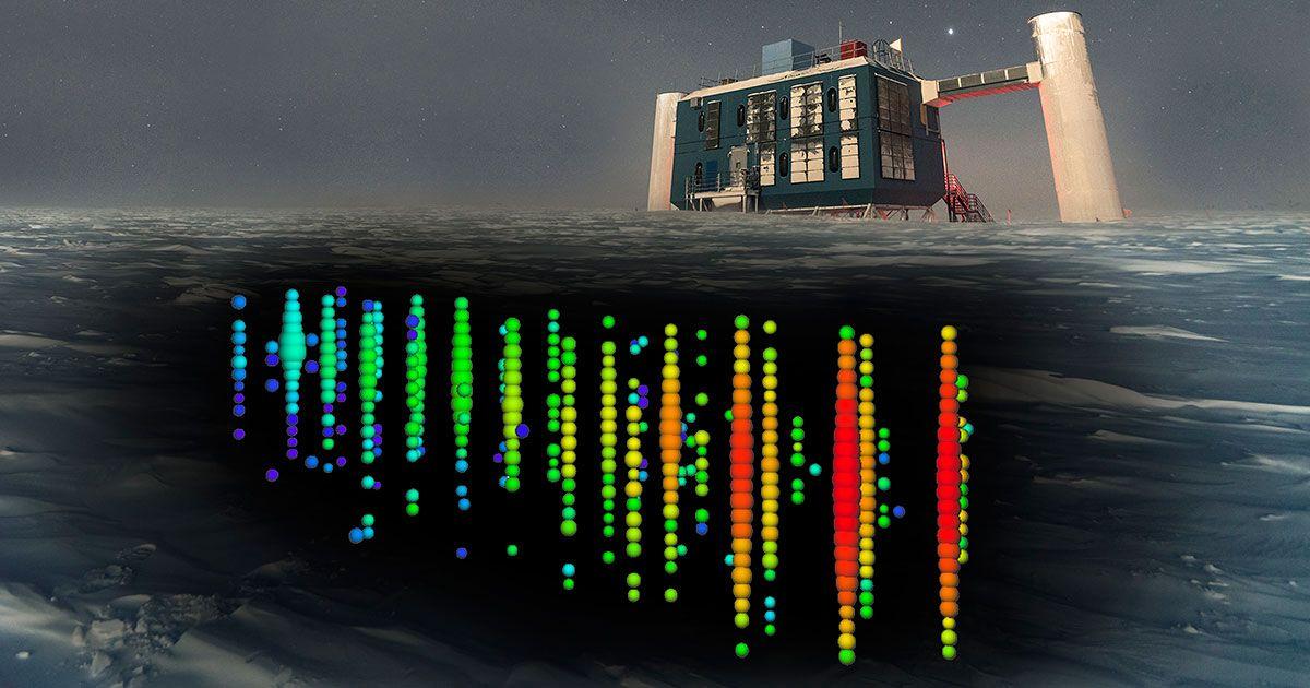 The IceCube Neutrino Detector at the South Pole Hits PaydirtIcecube Neutrino