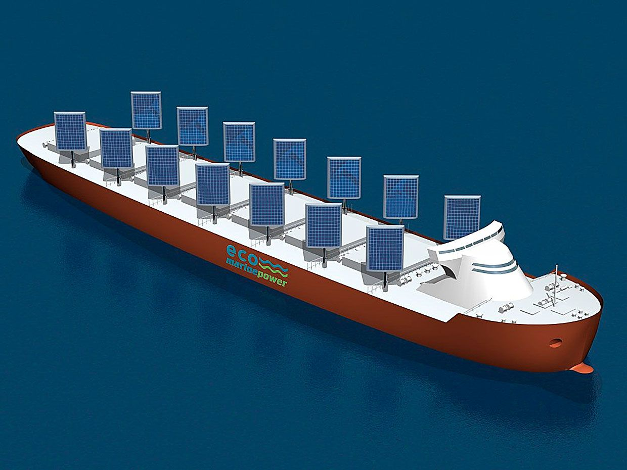 Energysails Aim To Harness Wind And Sun To Clean Up Cargo Ships Ieee Spectrum