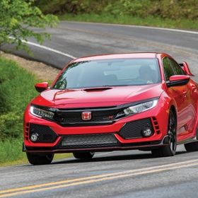 Photo of the Honda Civic Type R.