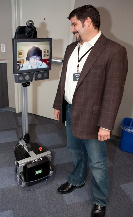 willow garage texas texai telepresence robot
