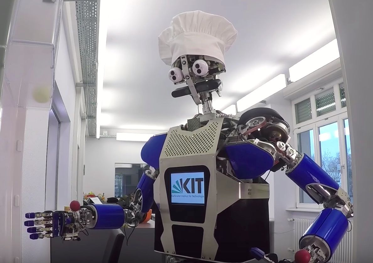 Video Friday A Humanoid In The Kitchen Transparent Gel Robots And