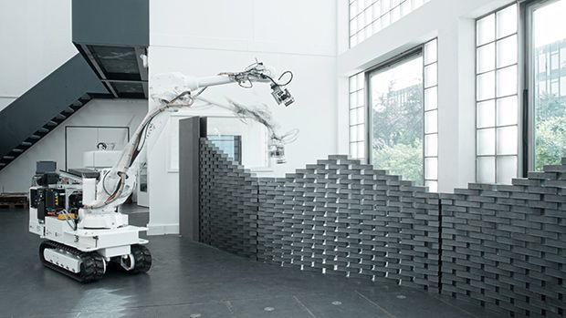Robotic Construction Gets Fancy At Eth Zurich S Digital Fabrication
