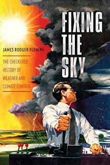 book cover, fixing the sky