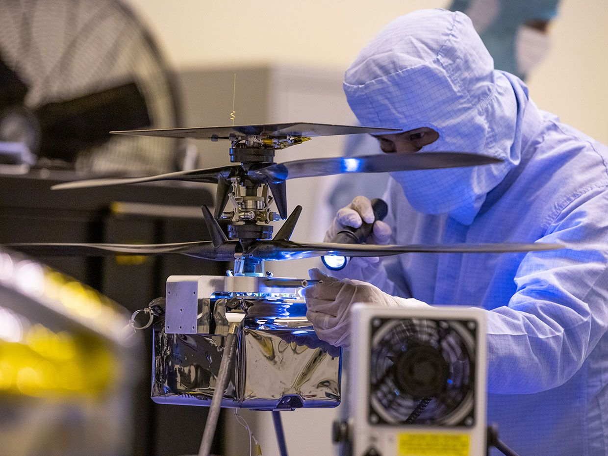 NASA's Next Mars Rover Will Carry a Tiny Helicopter