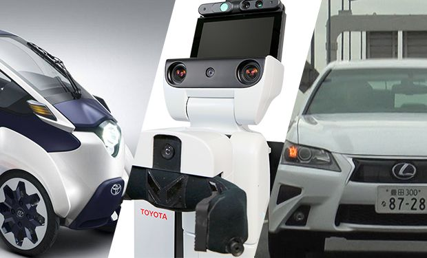 Toyota invests 1 billion in ai and robots will open rd lab in photo montage ieee spectrum photos toyota from left iroad a three wheeled electric concept that toyota is testing in some cities the human support malvernweather Image collections