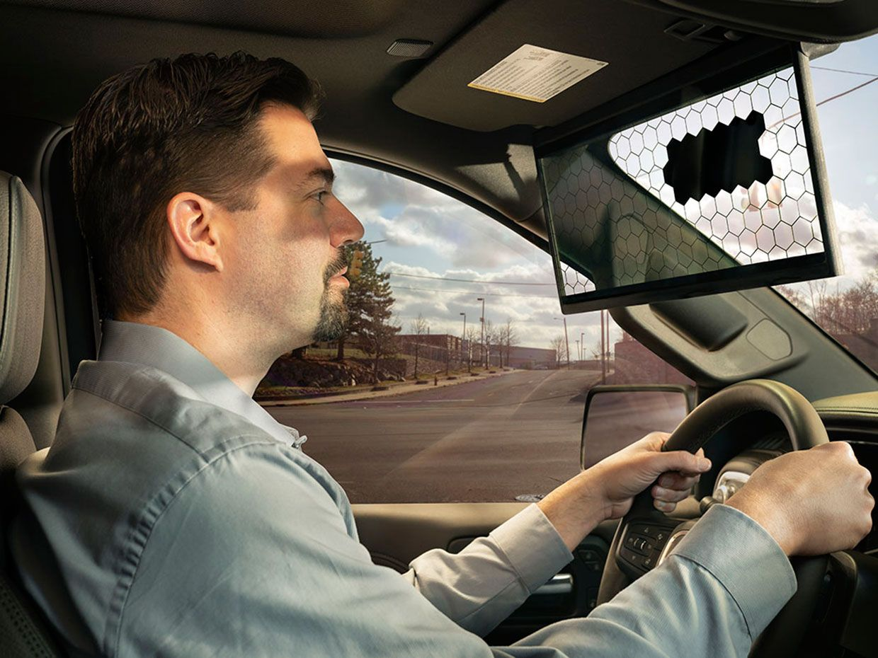 Bosch S Smart Visor Tracks The Sun While You Drive Ieee Spectrum
