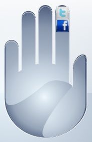 Give social networking the finger.