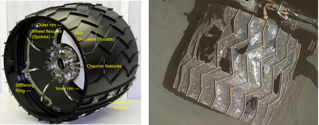 If Necessary, Mars Rover Curiosity Could Rip Its Own Wheels Off to Stay Mobile