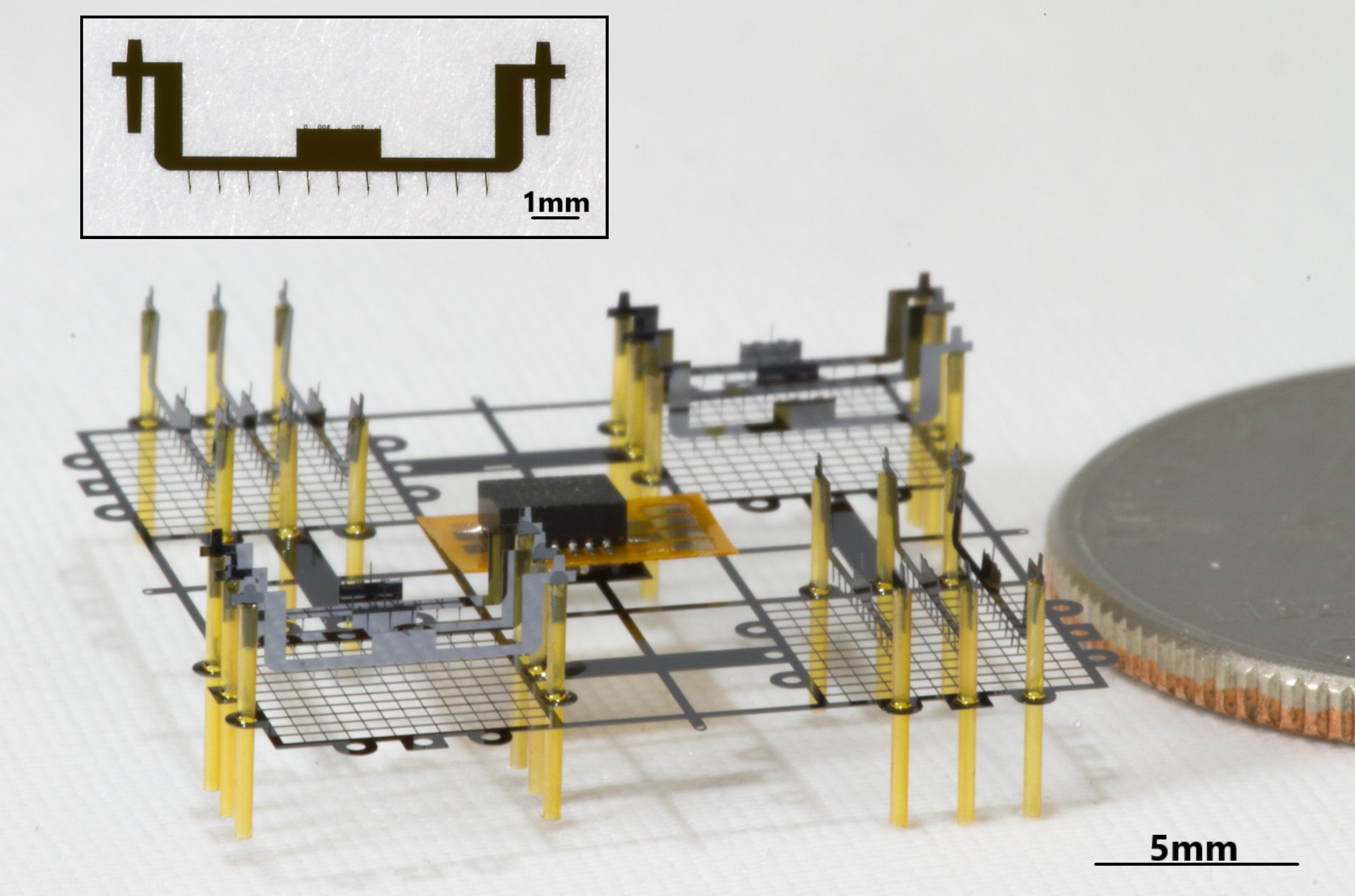 A drone powered by electrohydrodynamic thrust is the smallest flying robot ever made
