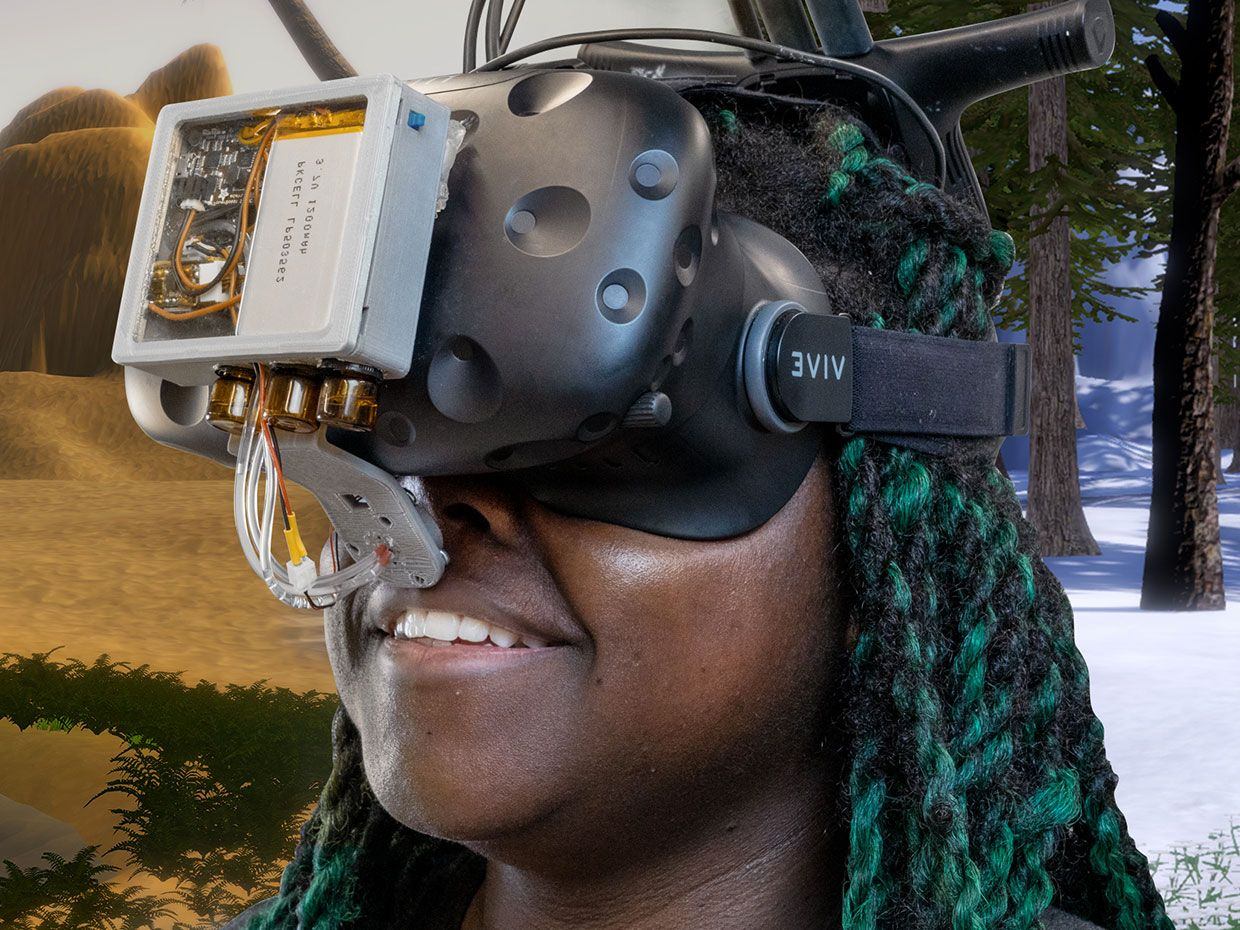 VR System Hacks Your Nose to Turn Smells Into Temperatures