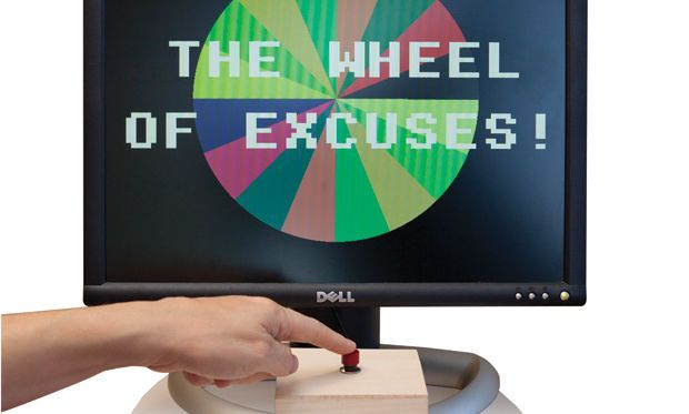 "Create a ""Wheel of Excuses"" With BASIC and the New Raspberry Pi"