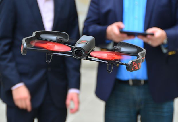 Parrot'S Bebop Drone Has Better Video, Longer Range, And