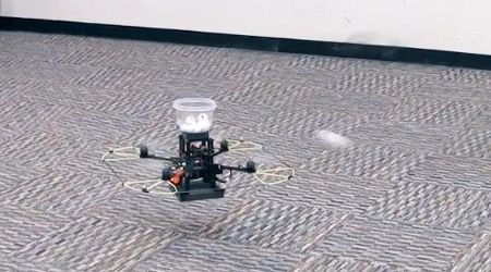 Quadrotors Can Now Play Catch, All-Robot Baseball Team Closer to Reality