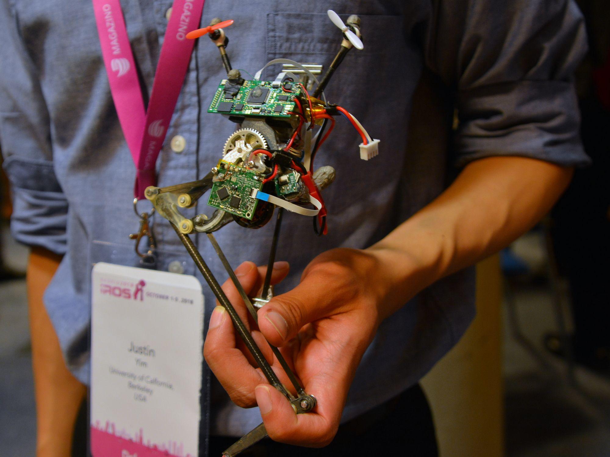 UC Berkeley jumping robot Salto-1P