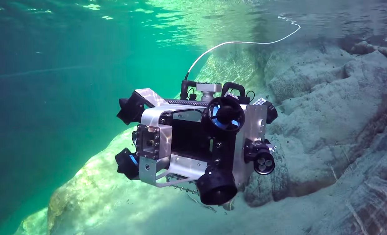 ETH Zurich's Scubo robotic submersible.