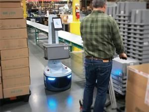 Locus Robotics warehouse robot