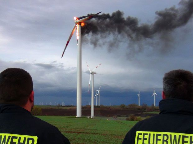 Wind Farm Fires Far More Common Than Reported, Study Finds