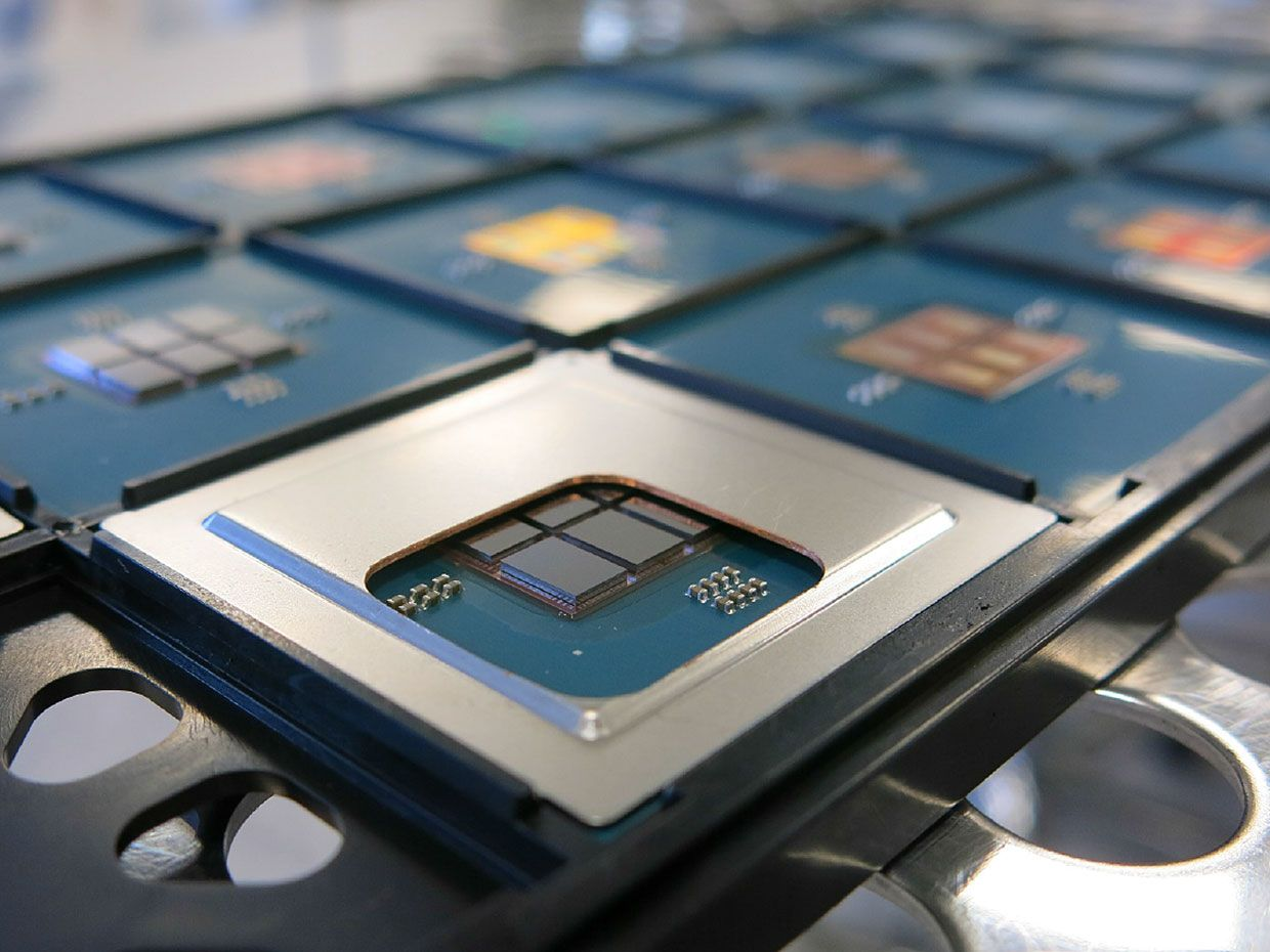 96-Core Processor Made of Chiplets