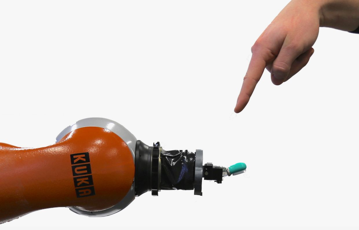 Researchers Teaching Robots to Feel and React to Pain
