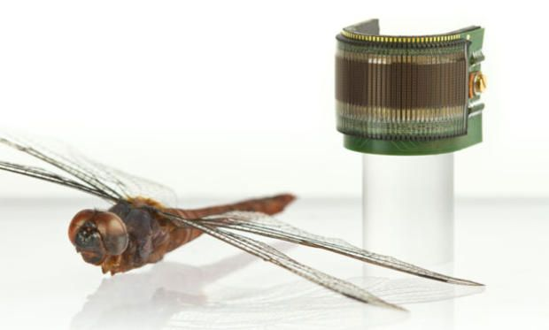Robotic Insect Eyes Destined for Next-Gen Micro Drones