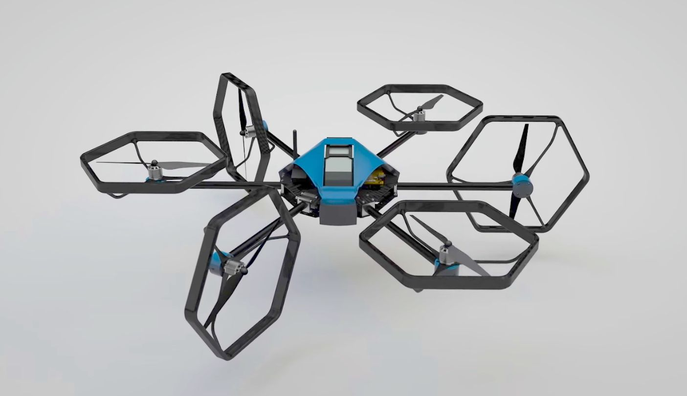 Voliro Hexcopter Uses Rotating Nacelles to Perform Versatile Acrobatics