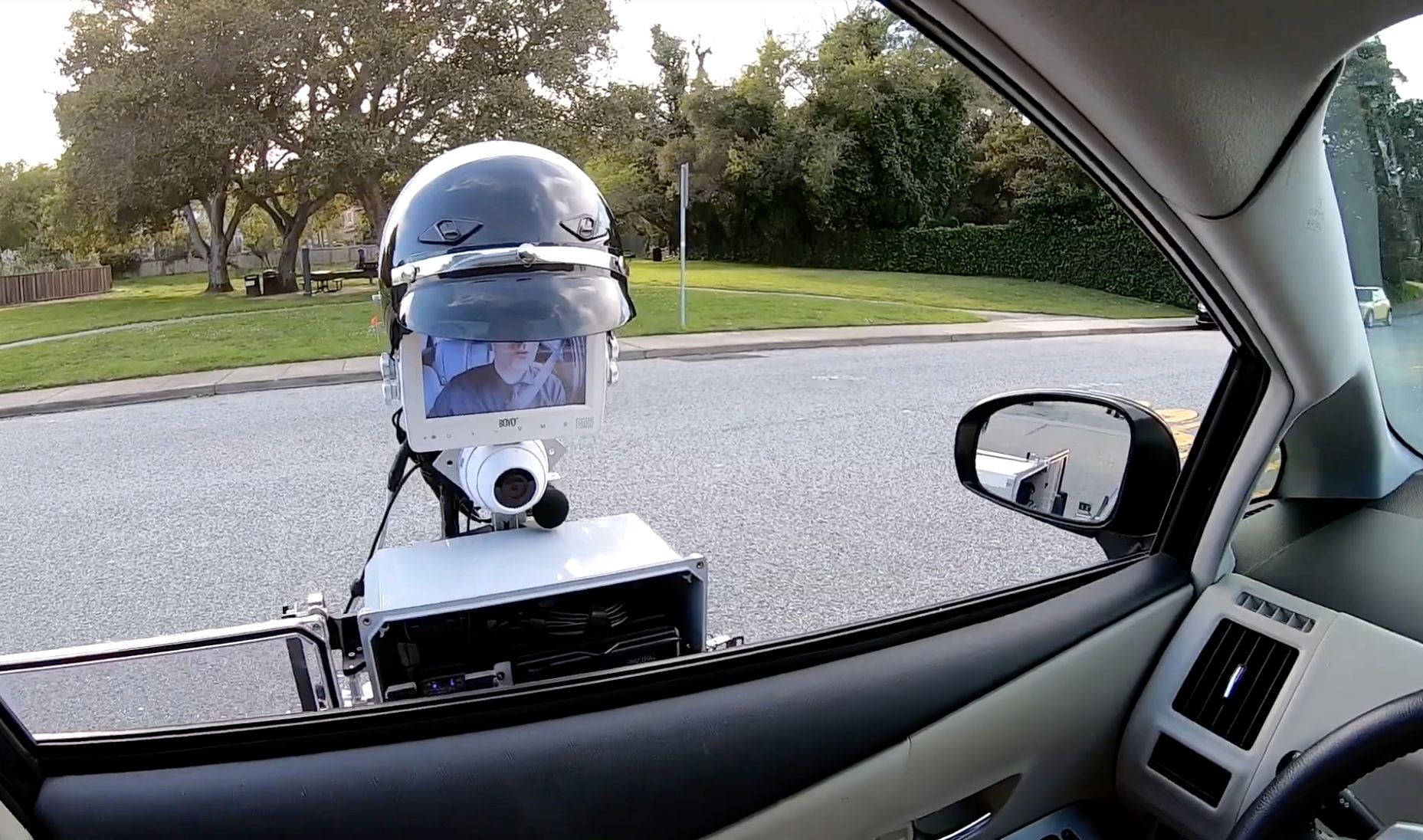 Watch This 'RoboCop' Make a Traffic Stop