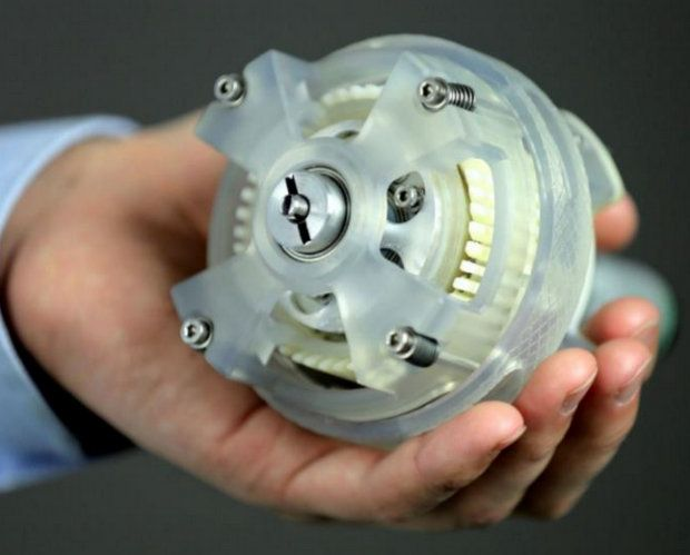 SRI's Inception Drive, an infinitely variable transmission for robotics
